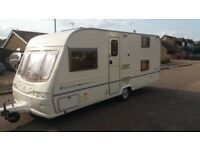 Avondale Rialto 535-5 5 berth caravan, triple bunks, See video