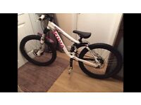 Kona stinky 2-4 downhill mountain bike just had a full Service and works perfectly