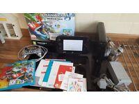 Nintendo Wii U Premium 32GB Black Console & Games Mario Kart Limited Edition