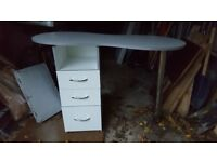 White Clinic/Home manicure table used