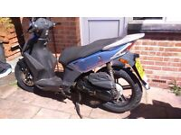 KYMCO AGILITY 50 4T 2011 TAIWANESE NOT CHINESE LARGE WHEELED VERSION
