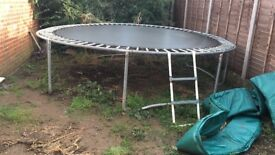 Big 12 ft trampoline