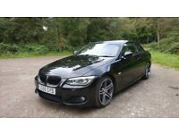 BMW 320d Msport Convertible, Private Plate Inc. 12 Months MOT No Advisories