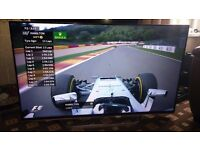 """LG 55"""" LED TV SMART/3D/WEBOS/800HZ/WIFI/FREEVIEW HD/FREESAT/MEDIA PLAYER/ AS NEW MUST SEE"""