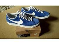 Nike Blaze Low Size 8 Blue