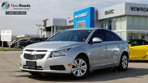 2014 Chevrolet Cruze 1LT 1LT, AUTO, PWR GRP, ONE OWNER, NO AC...