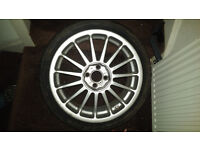 Set of 17 Inch Alloys for sale - 4 stud - 205 40 17