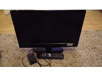 22Inch Logik 1080p LED TV/DVD Combi
