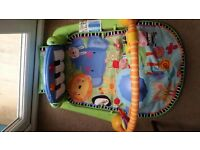 Fisher Price Rainforest kick and play piano play gym mat