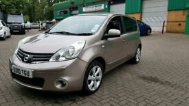 2010 NISSAN NOTE AUTOMATIC 5 DOORS LOW MILES WITH NAVIGATION