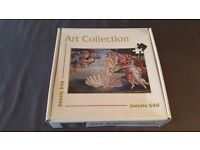Art Collection 540 Puzzle complete