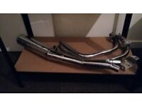 Honda Cx/Gl500 motad exhaust used in VGC