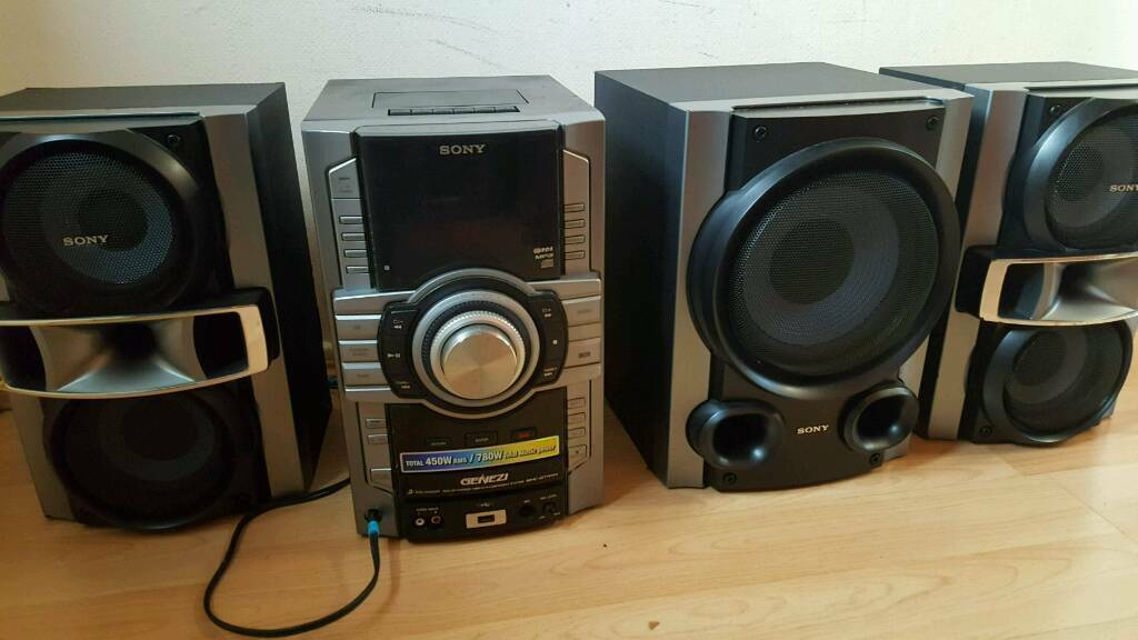 sony hifi stereo surround sound system in failsworth. Black Bedroom Furniture Sets. Home Design Ideas