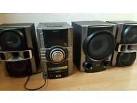 Sony hifi stereo surround sound system