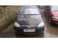 Vauxhall Corsa SRI 1.4 Black Spares OR Repair 2005