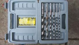 Boxed set of wood drills