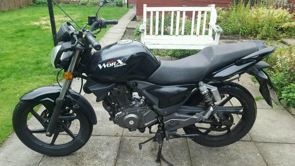 Generic workx 125cc