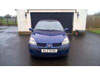 2002 Renault Clio 1.5 dci Expression £30 road tax. Audi Peugeot Ford Citroen Cheap Van Quick sale