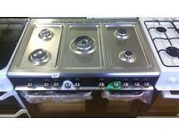 KENWOOD 2doors 90 CM Range dual Fuel single Gas Cooker new ex display
