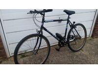 Black Shimano Universal bike