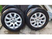Volkswagon wheels 195/65R15
