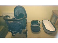 pram 3 in 1 for sale