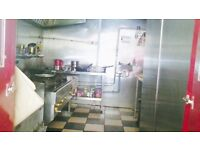 Indian Takeaway restaurant and 3 bedroom flat for sale