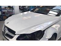 Mercedes E Class Coupe Cabriolet w207 bonnet repairable 2013 2014 2015
