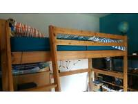 Ikea high single bed