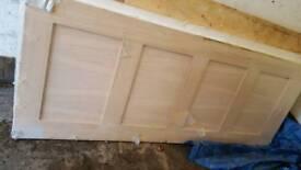 brand new fire wooden doors
