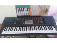 Used Casio CTK-501 keyboard with stand for sale