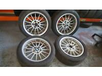 "BMW E38 18"" STYLE 32 Alloy wheels e36 e34 etc"