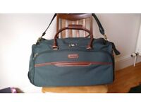M&S large Canvas Bag with wheels