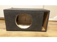 CAR SUBWOOFER ENCLOSURE PORTED 12 INCH TUNED 32kHZ FOR ORION HCCA PIONEER SPL ALPINE VIBE BASS BOX