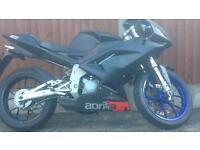 Aprillia RS50 50cc // 70cc motorbike.