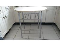 metal and formica table , kitchen, prep table, computer table, craft table etc £15 cosham