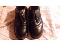 Pair of Mens Steel Toecap working Shoes size 9 1/2
