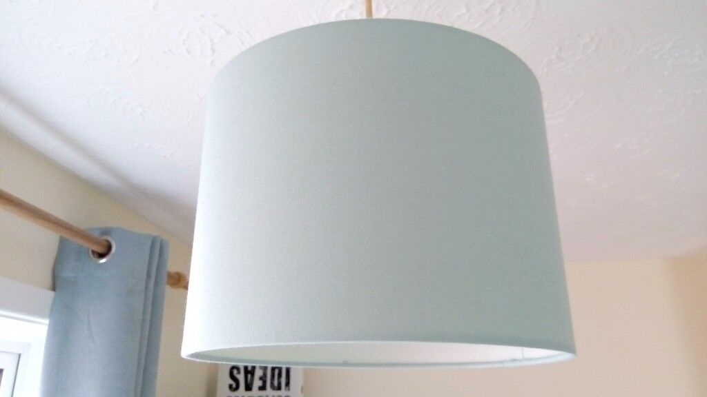 Mint lampshade