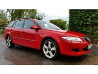 Mazda 6 Estate, 12 Months MOT, Top Spec, 6 Speed, Bose Audio, Service History