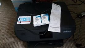HP Envy 5540 printer with ink cartridges for sale!!!