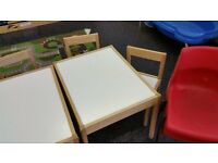 Children's table & chairs
