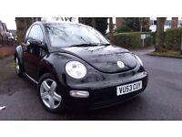 VW Beetle 1.9 TDI In Black Stunning