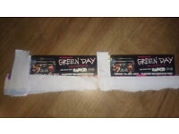 2 Green Day Tickets Glasgow 4th July
