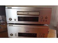 DENON F88 SYSTEM AMPFILIFER UCD-F88 & CD UTU-F88