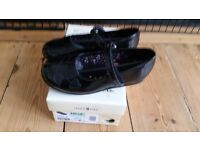 Startrite black patent school shoes 2 pairs size 10.5 and size 12