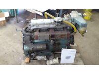 PERKINS 6354 MARINE DIESEL ENGINE - 6 CYLINDER