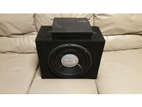 CAR ACTIVE SUBWOOFER JBL 1200 WATT 12 INCH ENCLOSURE WITH VIBE AMPLIFIER BASS BOX AND SUB WOOFER