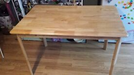 Lovely Wooden Dining Table (To seat 4 People)