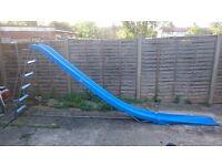 Big Children's Garden Slide