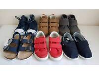 6 pairs of size 7 toddler shoes